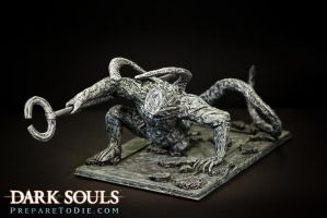 Dark Souls Headless Demon by futantshadow