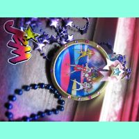 Jem and the Holograms Necklace by asunder