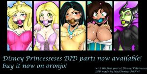 Disney Princess in Distress Part 1 AVAILABLE! by GreenLeona