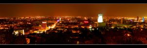 Bratislava at night by MikeleSVK