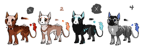 Hellhound adopts: 2 Left: cash/points by T-Harley