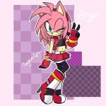 Amy Rose by Singhter-lips