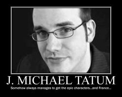 J. Michael Tatum by LolaMonique