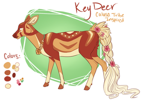 SECRET SANTA: Calusa Deer by Noxx-ious
