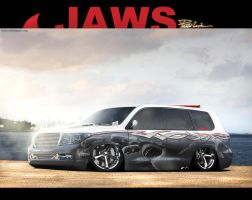 Toyota Land Cruiser Jaws by LEEL00