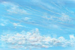 Afternoon Sky by Michael-Day