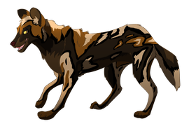 Custom Character Prize African Wild Dog by albinoraven666fanart