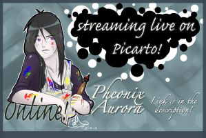 LIVESTREAMING!!! by PheonixAurora
