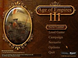 Age of Empires III Interface by Poser96