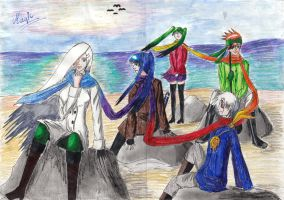 D.Gray-man and Saii by my-name-is-magic