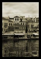 Chania Old Harbour by ntora