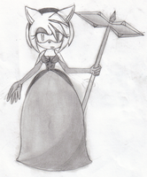 Amy rose_Gothic by Dark-Amy-Rose