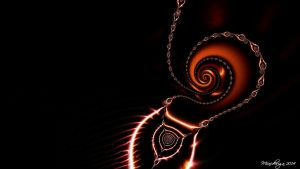 Duskiness Flame ~ Wallpaper by miincdesign