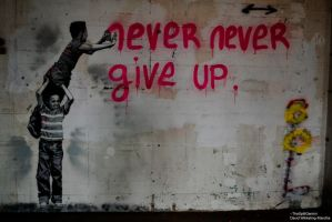 Never Give Up by TheSplitGemini