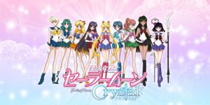 Sailor Moon Crystal Wallpaper III by xuweisen
