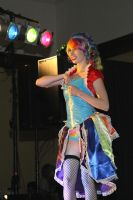 Burlesque Rainbow Dash by MsPepperPotts