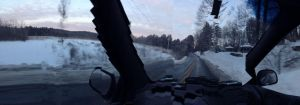 Panoramic Mode While Driving by Champineography