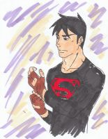 Superboy Young Justice by mangasfan
