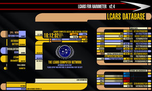 LCARS for Rainmeter VERSION 2.4 (March 15 2014) by Freaky333