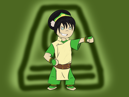 Toph chibi by Jessica3green