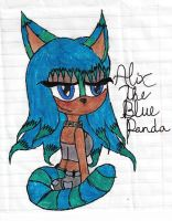 Alix The Blue Panda by SCOURGESBABE