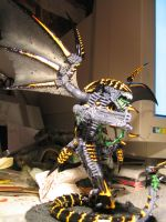 Tyranid Trygon 3 by skincoffin