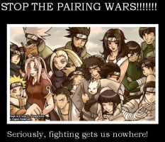 STOP THE PAIRING WARS by NaruHinaRokz