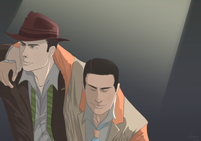 Drank Too Much? -L.A. Noire- by brucestache