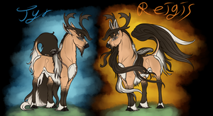 Tyr(Reigis) of Silverthorne|Stag|Commander by Aislein