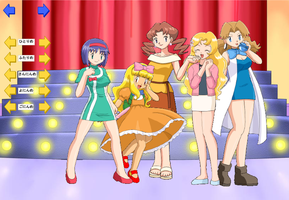 Pokemon crossdressers by jessicabrink