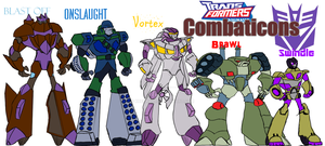 Animated Combaticons Brigade by Krekka01