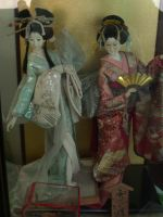 Japanese Dolls by luminaireterrial