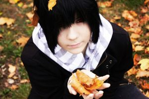Autumn: Black Haired Raven by Yaxan