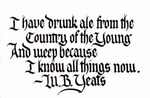 WB Yeats - Country of the Young by MShades