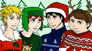 South Park Christmas by KiriXY