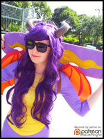 Spyro at the Skatepark (Cosplay) by KrazyKari