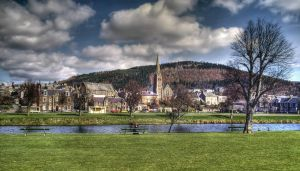 Peebles on the river Tweed 2 by PaulWeber
