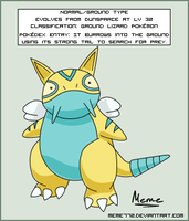 Dunsparce Evolution by Meme772