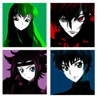 Modern Art Code Geass by Unforgivenroini
