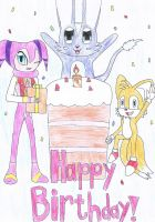 Happy birthday by NIGHTSandTAILSFAN