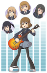 K-On Print times by CubeWatermelon