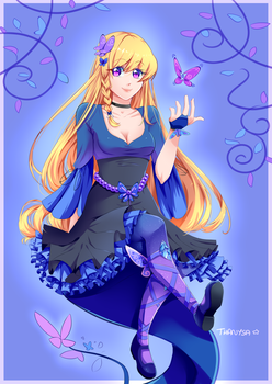Butterfly Girl by Thanysa
