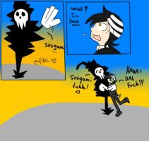 Shinigami chop...or not c: ! by BrambleLady