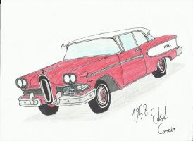 Edsel Corvair 1958 by TheSHERMAN222