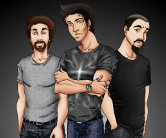 Ghost Adventures Crew by SetoAngel01