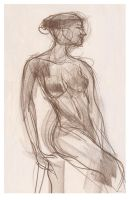 Life Drawing 5 by ChristineAltese