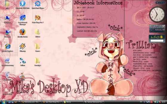 New Desktop by Mika86