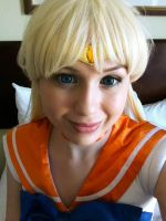 Good Morning Sailor Venus by MermaidSushiCosplay