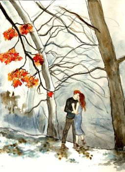 My Love Is Like A Red, Red Leaf by LittleSeaSparrow