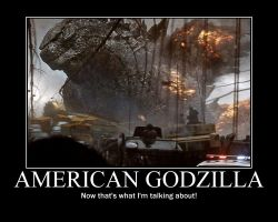GODZILLA 2014 MOTIVATIONAL 3 by cwpetesch